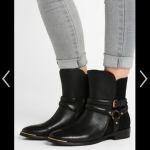 Leather And Suede Boots Sz